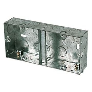 Picture of Deligo DGB25 25mm Dual Switch And Socket Box