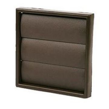 """Picture of NVA MON243B Fan 4"""" Gravity Wall Grille Brown"""