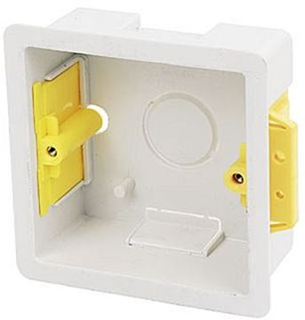 Picture of Appleby SB619 Dry Lining Box 1 Gang 35mm