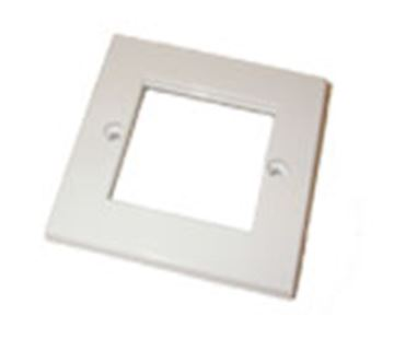 Picture of Cntx 1 Gang 2 Module Faceplate White