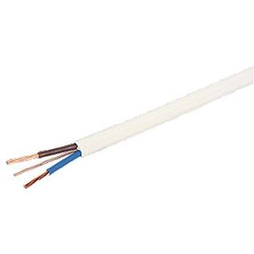 Picture of 6242BH2.5WHI 2C Flat LSF 2.5mmx100m Whi