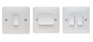 Picture for category Switches White Moulded Wiring Accessories