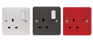 Picture for category Sockets White Moulded Wiring Accessories