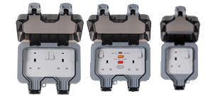 Picture for category Sockets Weather Proof Wiring Accessories