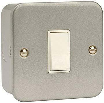 Picture of Click CL025 Switch 1G Int & Box10A Mclad