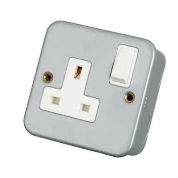 Picture of Click CL035 Socket 1G DP Switched 13A
