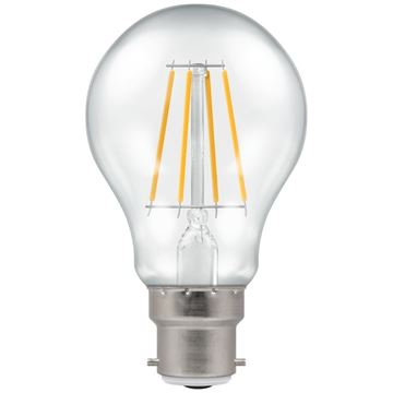 Picture of Crompton 4207 LED BC-B22d 7.5W 2700K Clr