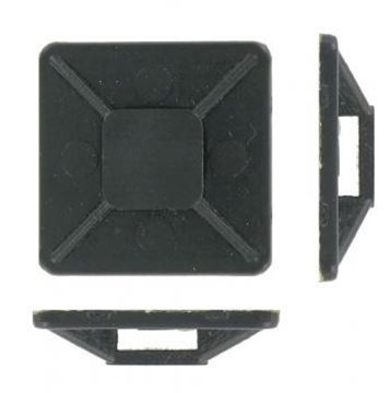Picture of Deligo CTB25B Cable Tie Base 25mm NylBlk