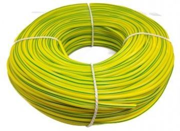 Picture of Deligo SL4GY Sleeving 4mmx100m Grn/Yel