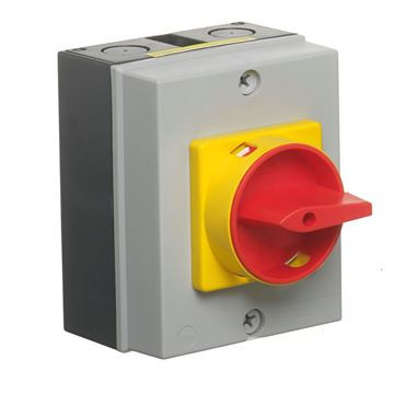 Picture of Europa LB204P Rotary Isolator 4P 20A