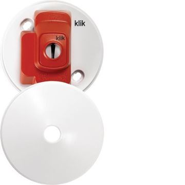 Picture of Hager CR64AX Ceiling Rose & Cover 4P 6A