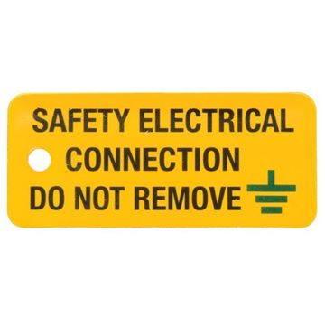 Picture of Ind Signs IS0605RP Elec Conn Label Pk5