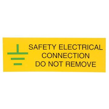 Picture of Ind Signs IS0610SA Elec Conn Label Pk10