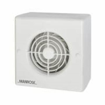 """Picture of Manrose CF100H Fan 4"""" Centrifugal Humidistat"""