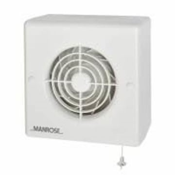 """Picture of Manrose CF100P Fan 4"""" Centrifugal Pullcord"""