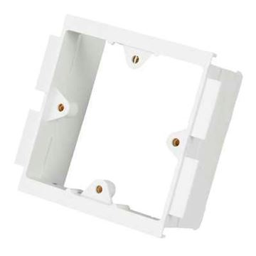 Picture of MK VP131WHI 1 Gang Back Box White