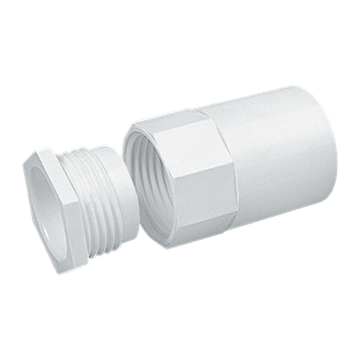 Picture of MT A20MBWH Female Adaptor 20mm Whi