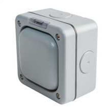Picture of MK K56400GRY Switch 1 Gang 1 Way SP 10A