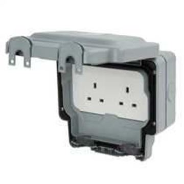 Picture of MK K56481GRY Socket 2G Unswitched 13A