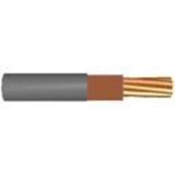 Picture of 6181YH16BRN-1 1C D/Ins PVC 16mmx1m Gry/Brn