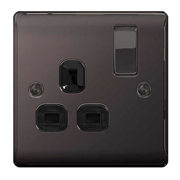 Picture of BG NBN21B Switched Socket 1G DP 13A