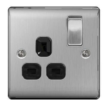 Picture of BG NBS21B Switched Socket 1G DP 13A
