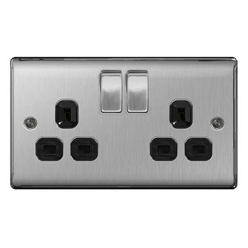 Picture of BG NBS22B Switched Socket 2G DP 13A