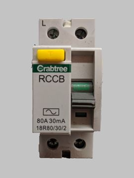 Picture of Crab 18R80/30/2 RCCB DP AC 80A 30mA