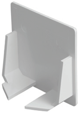 Picture of MT CT30ECWH End Cap 50x50mm Whi