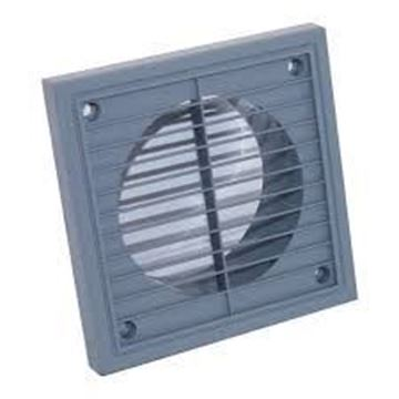 Picture of Manrose 1192G 150mm Grey Fixed Grille