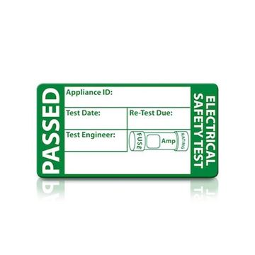 Picture of TIS TIS1612-500 Pass Label Pack=500