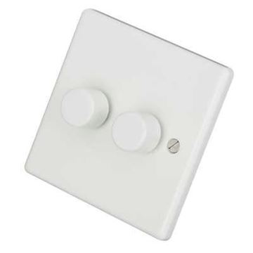 Picture of Zano ZSP252 Dimmer Switch 2G 2x250W Whi