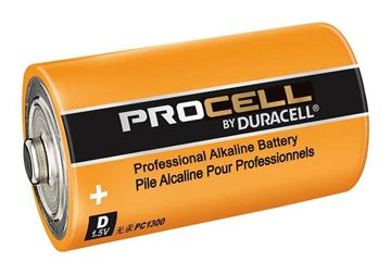 Picture of Dura PC1300/10 Alkaline D Cell PK-10