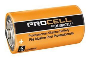 Picture of Dura PC1400B10 Alkaline C Cell PK-10
